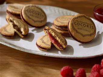 サンドクッキー「ヘーゼルナッツと木苺」 10個入り