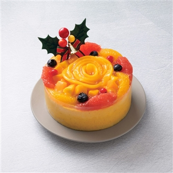 品川 サウス 京橋千疋屋 クリスマスマンゴームース