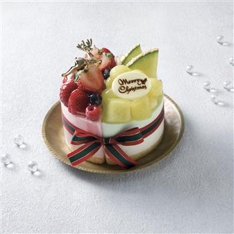 品川 サウス 京橋千疋屋 苺とメロンのムースケーキ