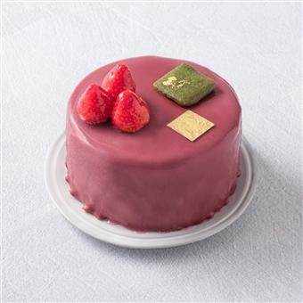 大宮 ハスキージェラート いちごのジェラートケーキ